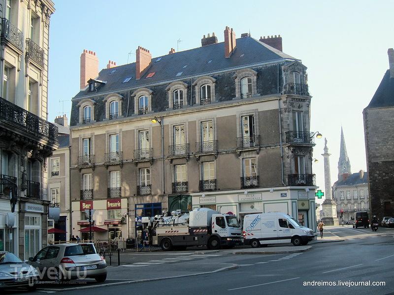 Нант. Бретань, Франция / Фото из Франции
