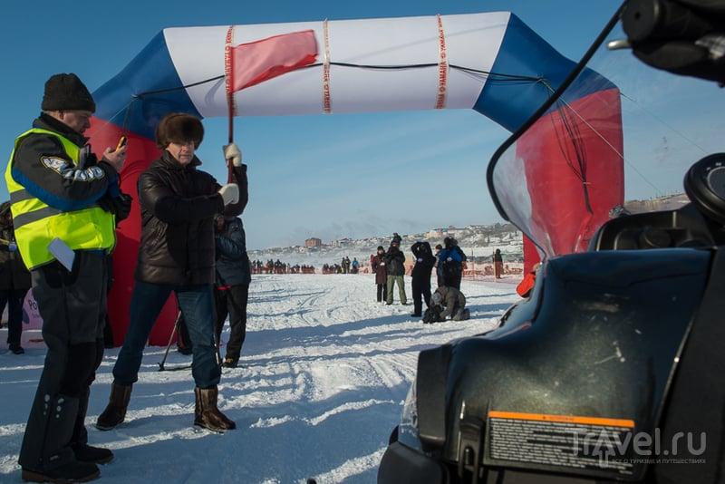 Обгоняя ветер. Салехард, Россия / Россия