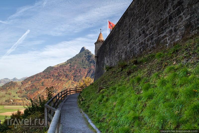 Швейцария. Замок Шато де Грюйер / Фото из Швейцарии