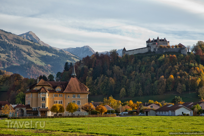 Замок Шато де Грюйер. Швейцария / Фото из Швейцарии