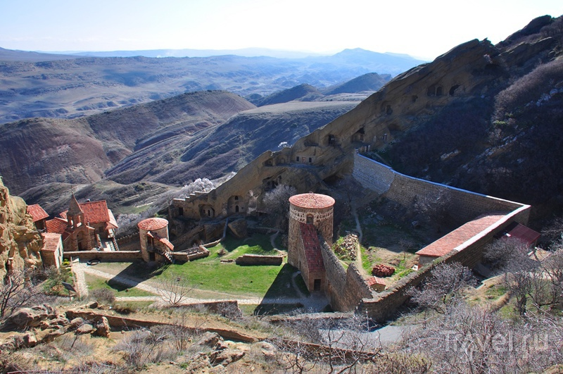 Монастырь Давид Гареджи на границе Грузии и Азербайджана / Фото из Азербайджана