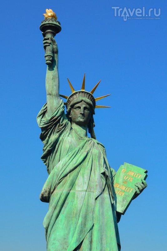 Статуя Свободы - самый известный символ Америки