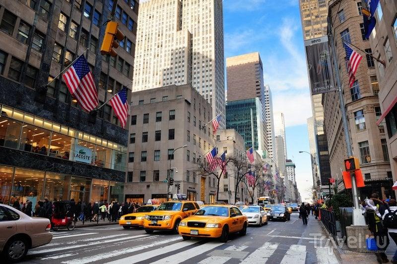На Пятой авеню находятся самые дорогие и модные бутики города