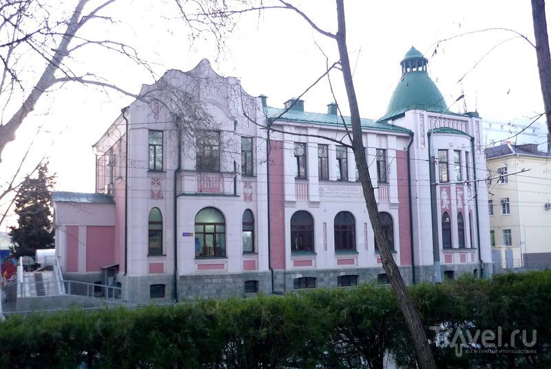 Водо-электро лечебница имени С.И. Бабыч. Краснодар, Россия / Россия
