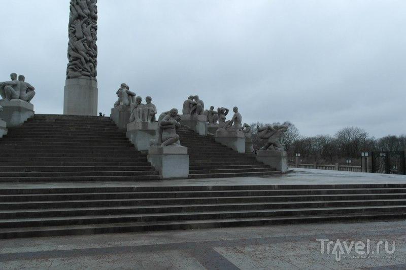 Осло, парк скульптур Вигеланна. Норвегия / Норвегия