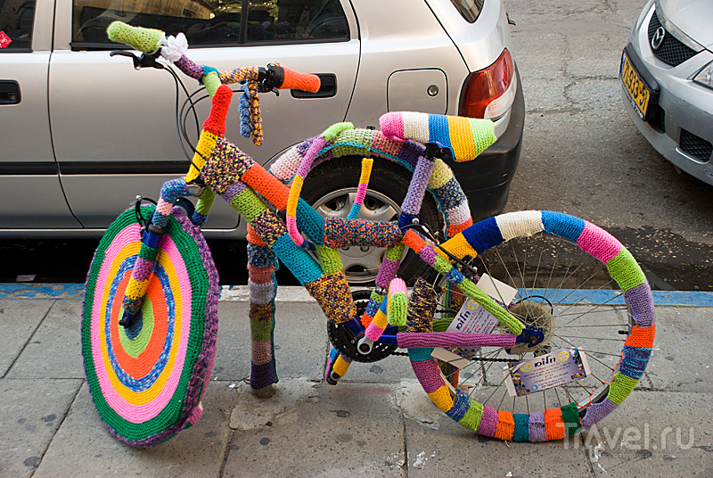 Велосипед на улице Тель-Авива. Израиль / Фото из Израиля