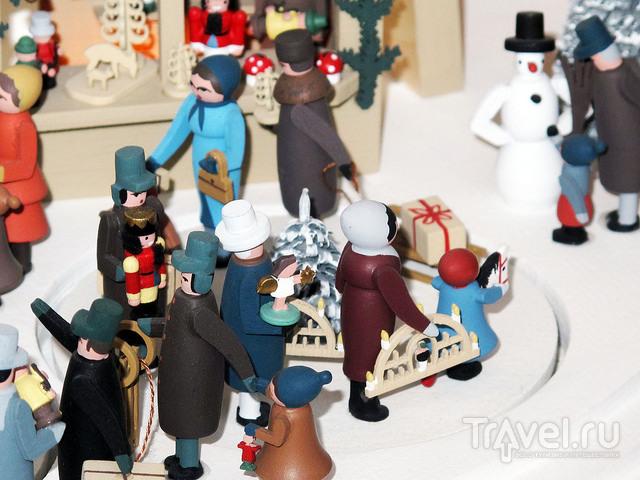 Царство деревянной игрушки в Дрездене. Германия / Германия