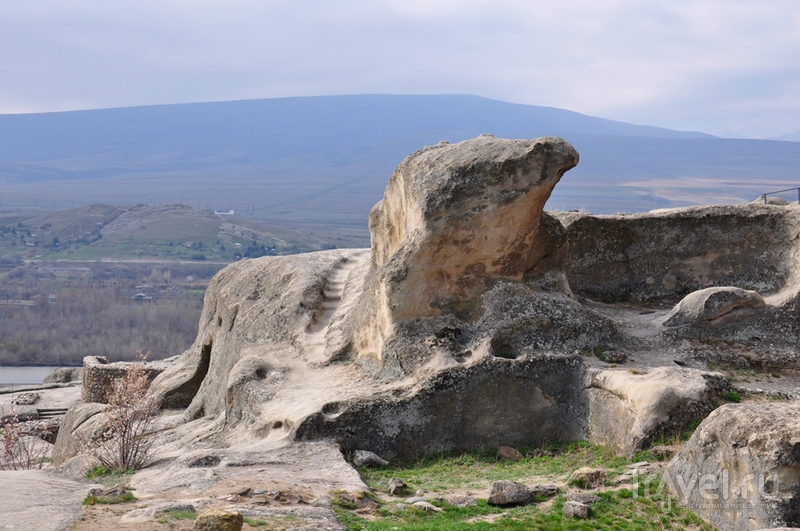 Грузия. Пещерный город Уплисцихе / Грузия