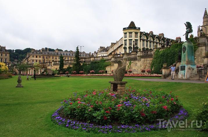 Парадные Сады Бата были разбиты в середине XVIII века