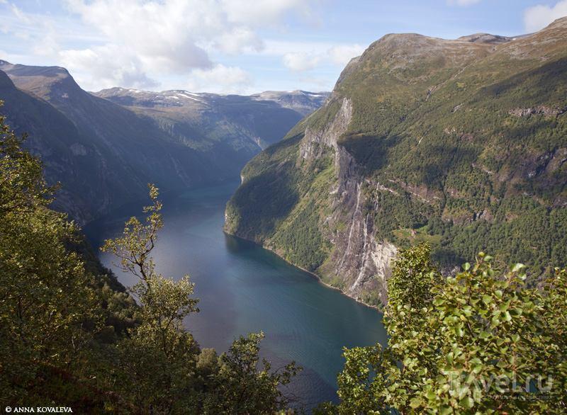 Путешествие по Норвегии. Geirangerfjord / Норвегия