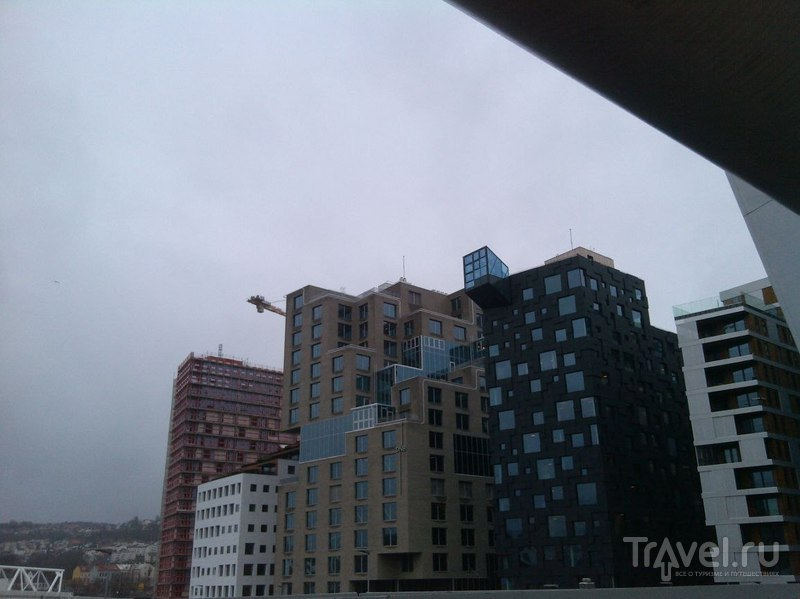 Осло, Норвегия - идем по городу / Норвегия