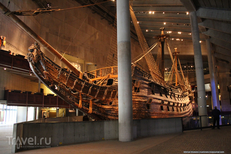 Музей корабля Vasa в Стокгольме / Швеция