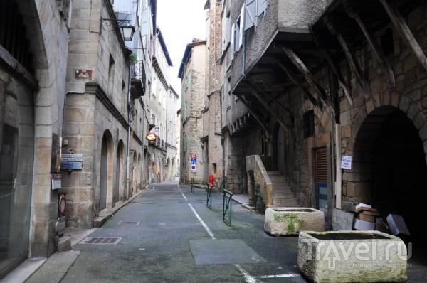 Средневековый город Фижак во Франции / Франция