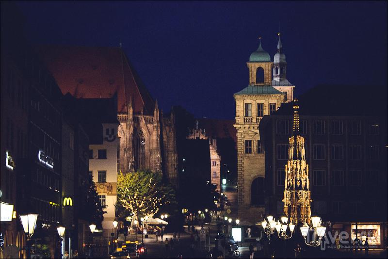 Месяц в Германии и рядом. Нюрнберг / Германия
