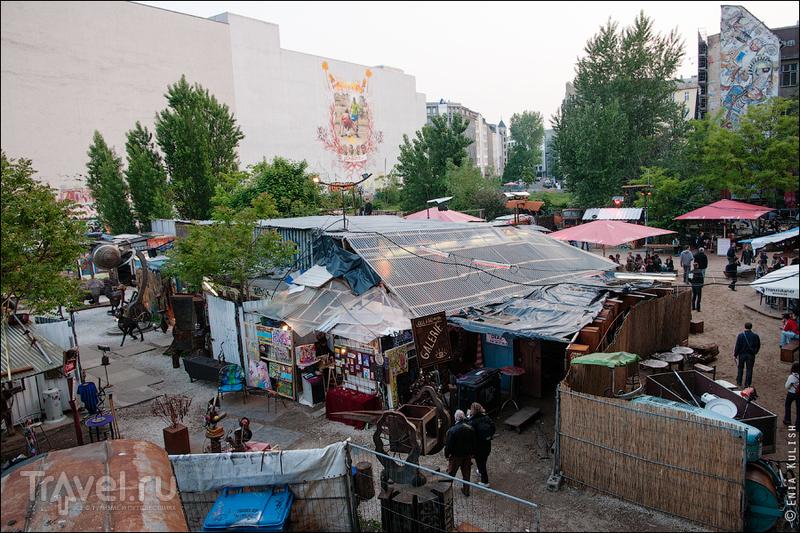 Берлинский арт-сквот Тахелес / Германия