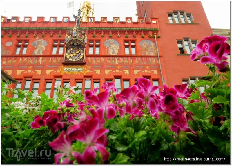 Базельская ратуша / Фото из Швейцарии