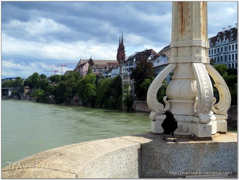 Вид с моста Mittlere Bruecke / Фото из Швейцарии