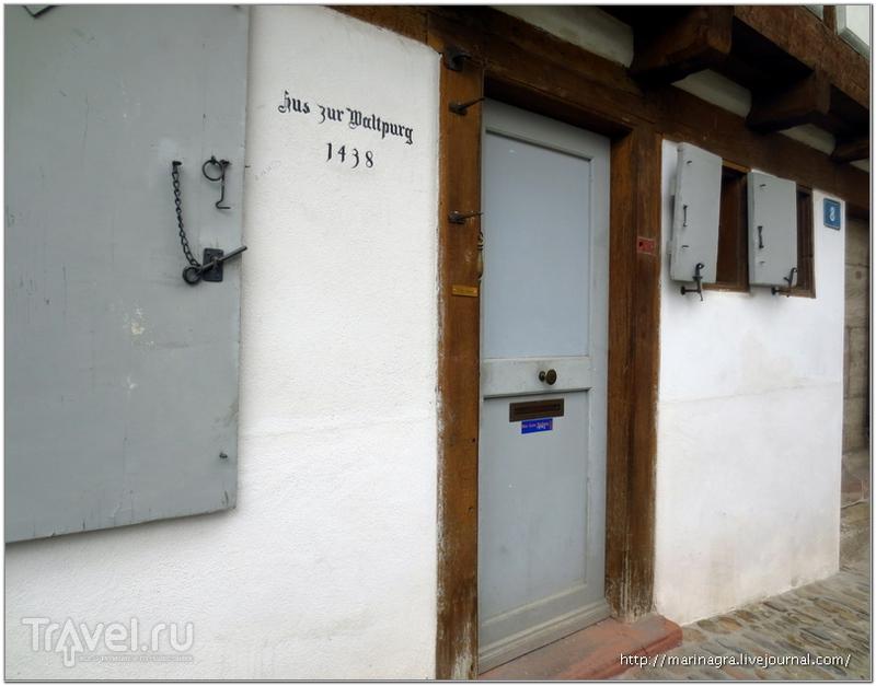 Дом 15 века на улице Rheinsprung / Фото из Швейцарии