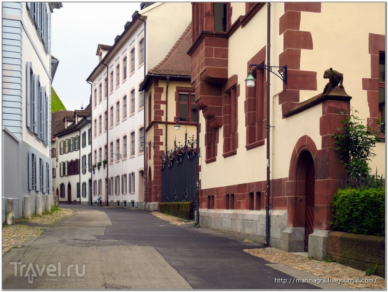 Переулок Мартинсгассе / Фото из Швейцарии