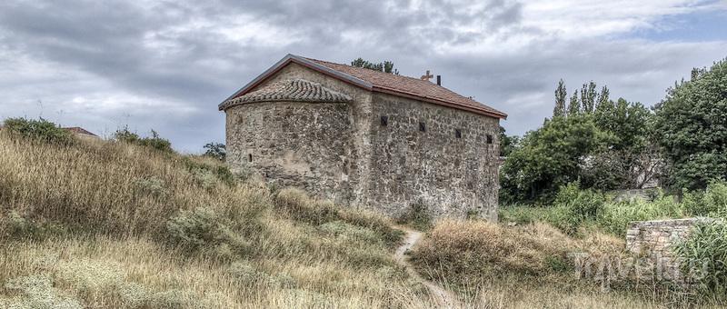 Генуэзская крепость Кафа в Феодосии / Россия