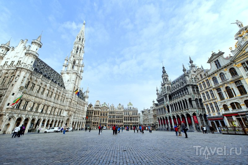 Панорама главной площади Брюсселя