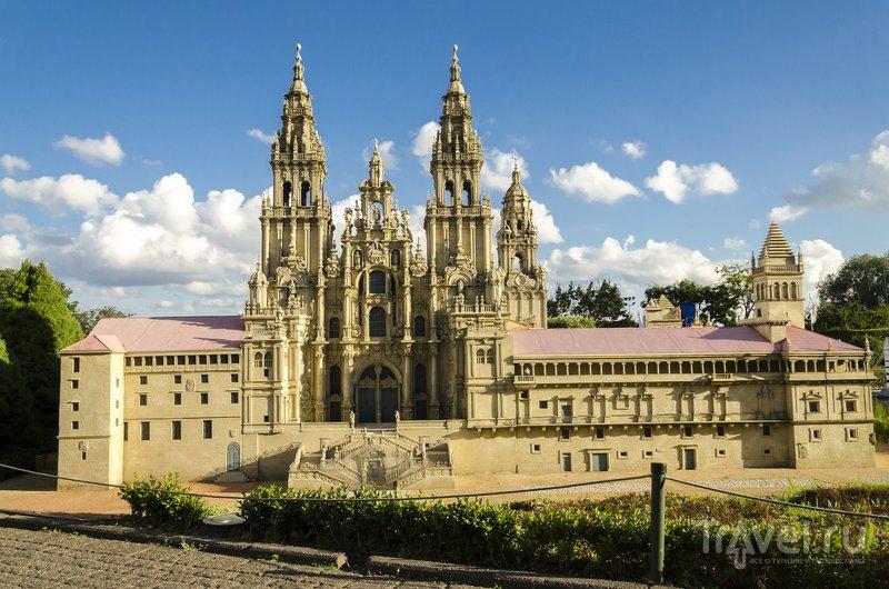 Испанский собор Сантьяго-де-Компостела