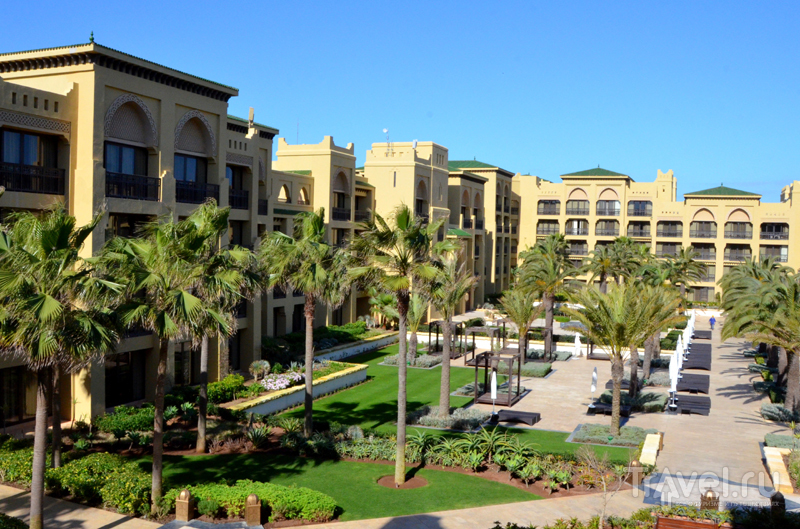 Гостиничный комплекс Mazagan Beach Resort в Марокко / Фото из Марокко