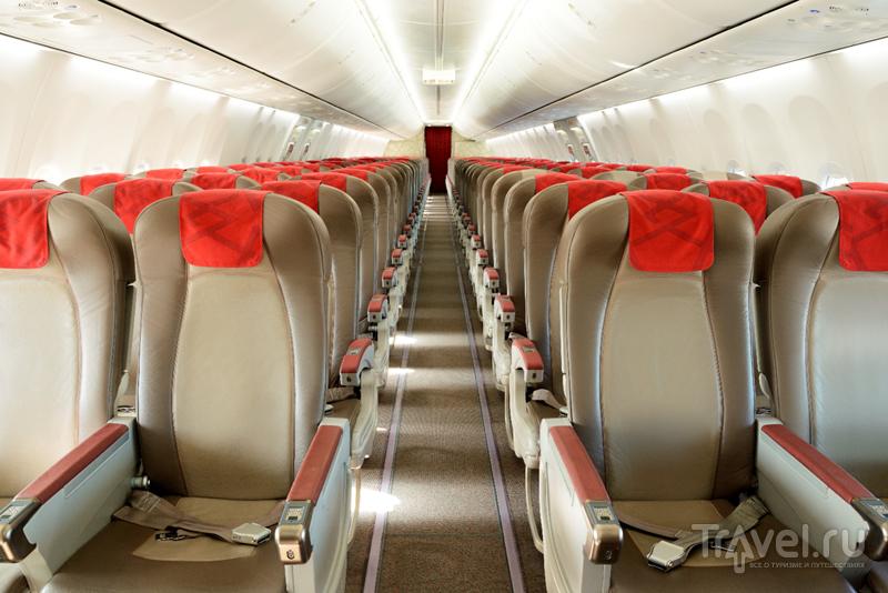 В самолете Royal Air Maroc / Фото из Марокко