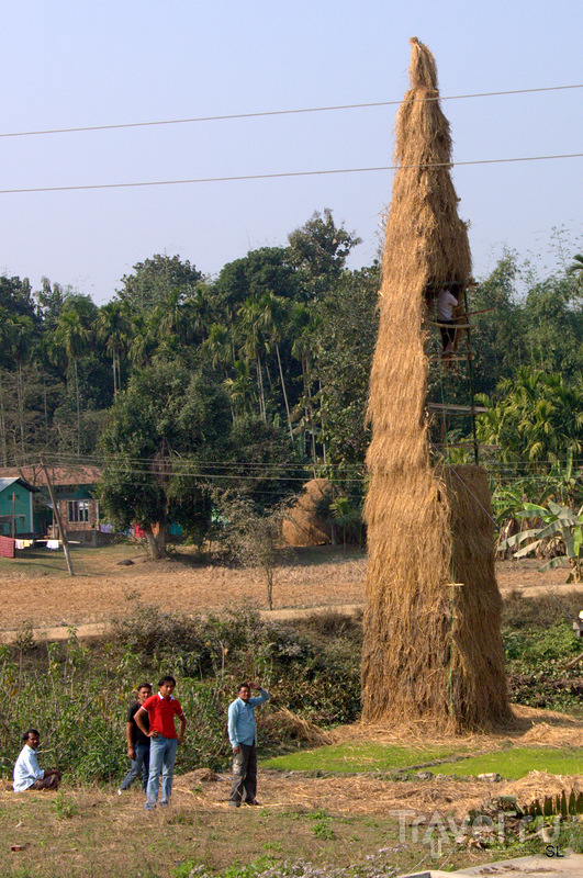 Magh Bihu - Bhogali Bihu Festival / Фото из Индии