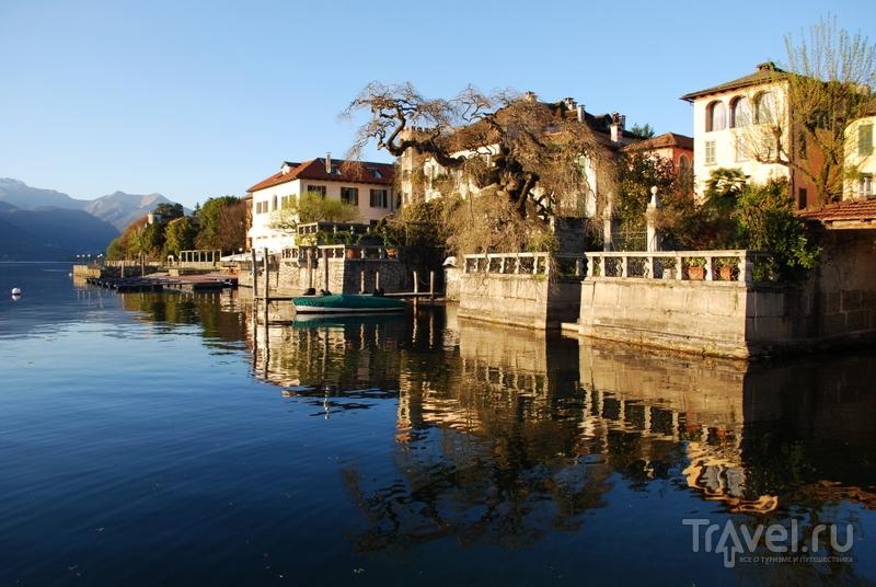 По периметру острова расположены роскошные частные виллы / Италия