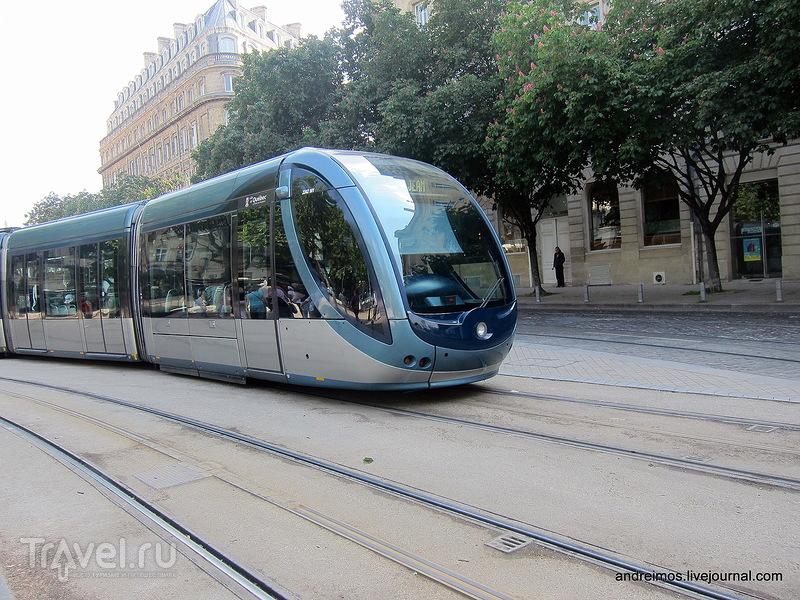 Трамвай / Фото из Франции