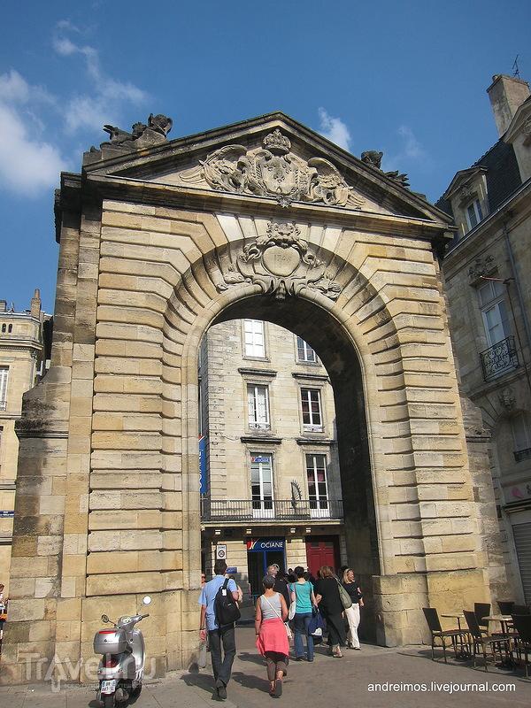 Ворота Дижо (Porte Dijeaux) / Фото из Франции