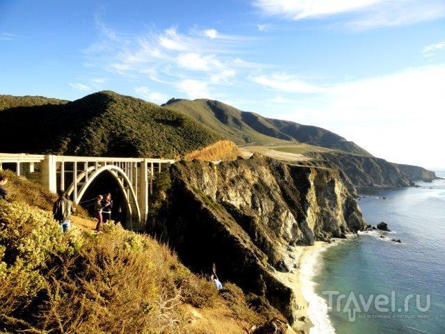 Лос-Анджелес - Сан-Франциско. Дорога №1. Морские львы. Кармель / США