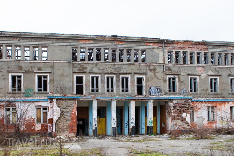 Заброшенная кузница кадров авиации и космонавтики - ХВВАУЛ имени С. Грицевца / Украина