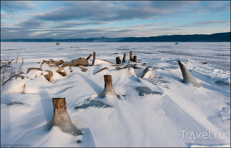 Озеро Тургояк: Остров Чайки / Россия