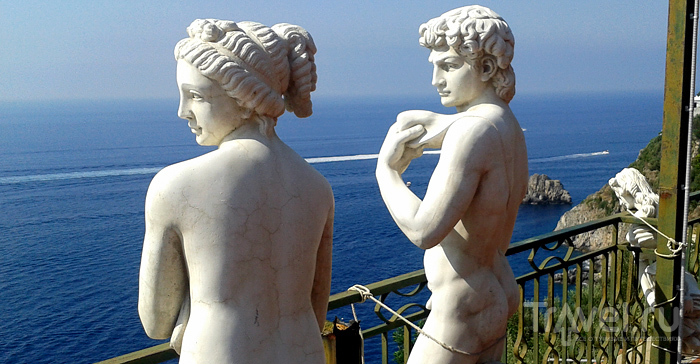 Прайано, Позитано, Капри / Италия