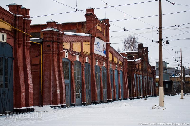 Музей электротранспорта в Питере / Россия