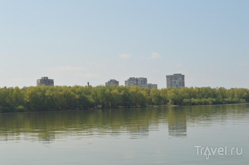 На пароме через Дунай. Силистра (Болгария) - Калараш (Румыния) / Болгария