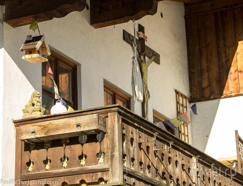 Весенний Обераммергау. Бавария / Фото из Германии
