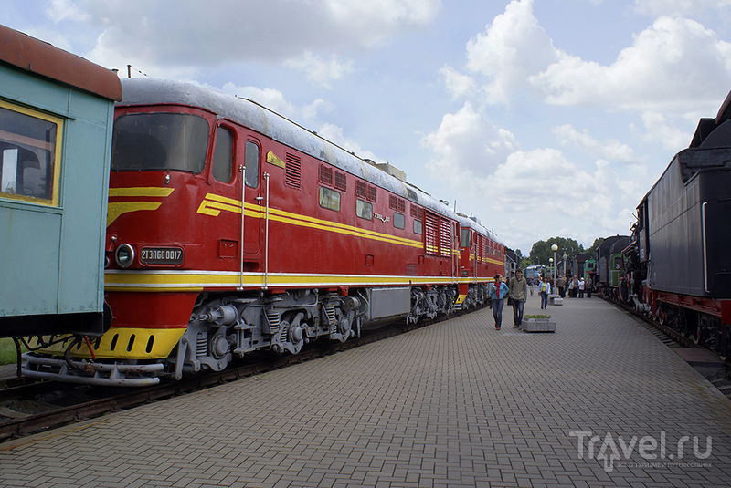 Музей железнодорожного транспорта в Бресте