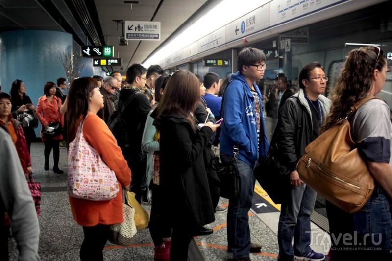 Немного о метро в Гонконге / Гонконг - Сянган (КНР)