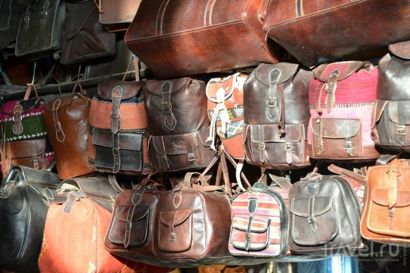 Чем торгуют на базарах Марракеша? / Марокко