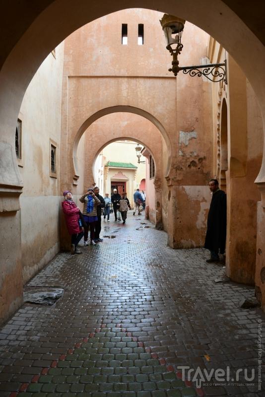 В лабиринтах медины Марракеша / Марокко
