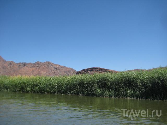 Сплав по реке Оранжевая. Намибия / Намибия