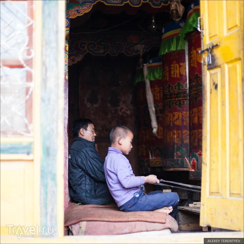 Молитвенные барабаны... Индия / Индия