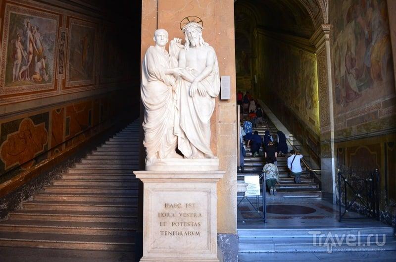 Как попасть в Святая Святых или в поисках лестницы, по которой ступал Иисус / Италия