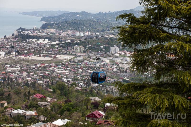 Пролетая над Батуми... / Фото из Грузии