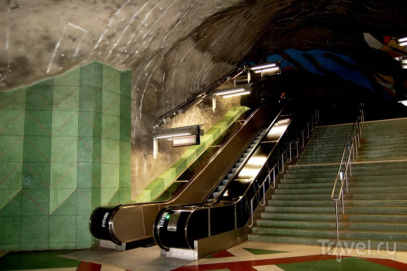 Стокгольмское метро / Швеция