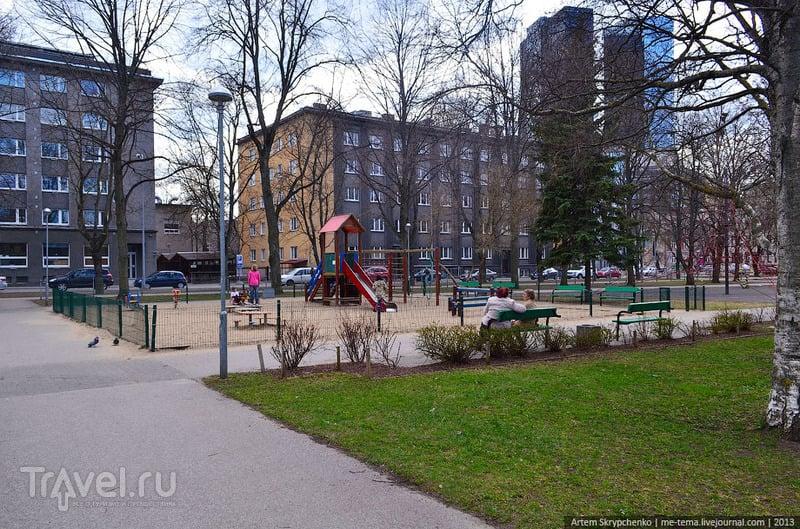 Таллин: детские площадки / Эстония