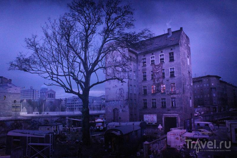 Панорама разделенного Берлина / Германия